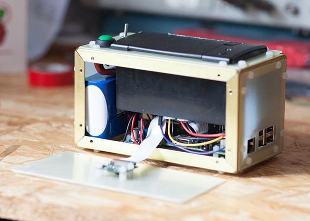 PolaPi – самодельная камера моментальной печати на платформе Raspberry Pi