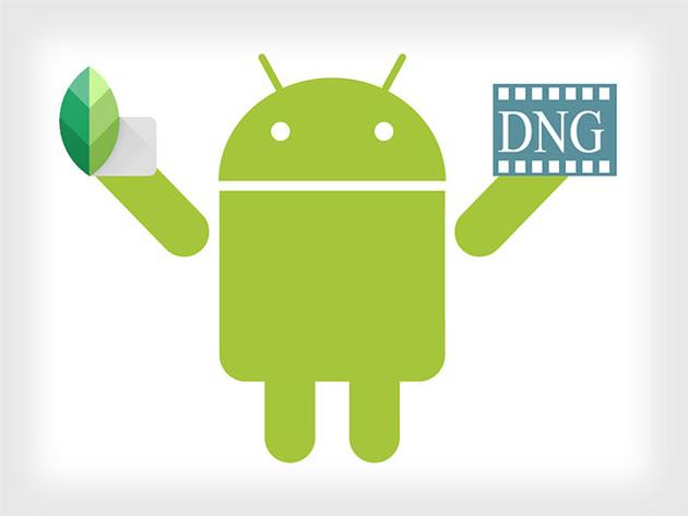 Приложение Snapseed для Android научили редактировать RAW файлы
