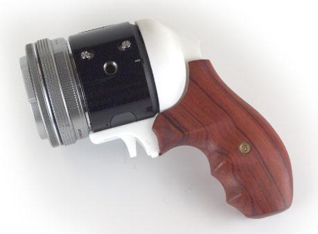 Распечатанная на 3D-принтере рукоятка для камеры Olympus Air