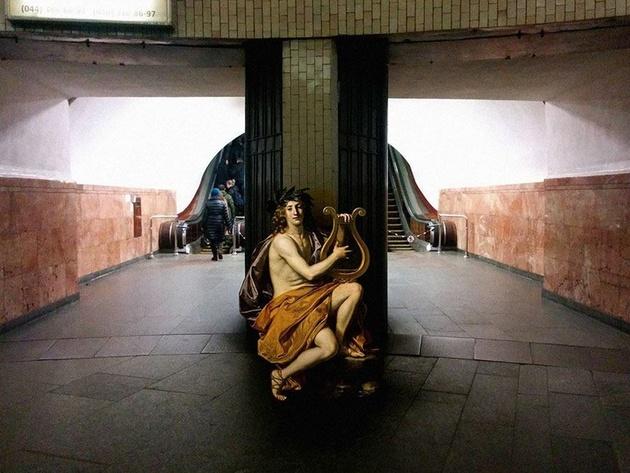Классические полотна vs современный городской пейзаж