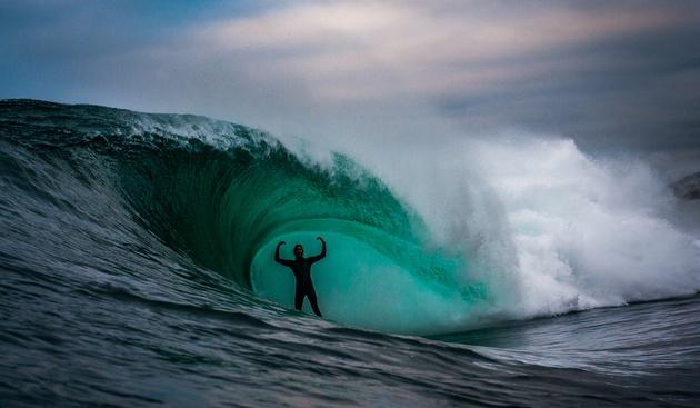 Leroy Bellet — серфер с фотоаппаратом