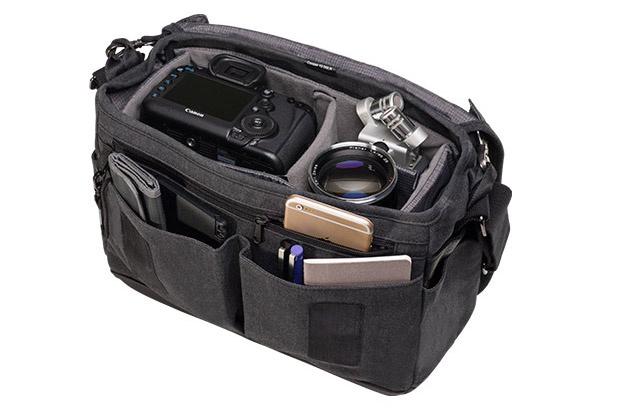 Коллекция люксовых холщовых и кожаных сумок Cooper от компании Tenba