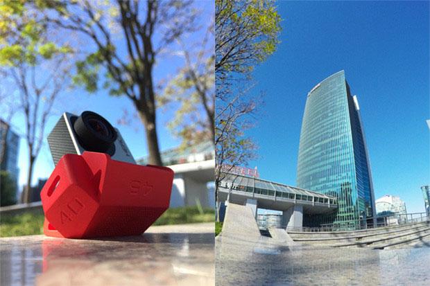 SLOPES – стенд-многогранник с 20 углами установки для камер GoPro