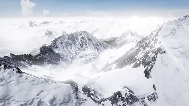 Виртуальное восхождение на Эверест создается с помощью 300000 фотографий
