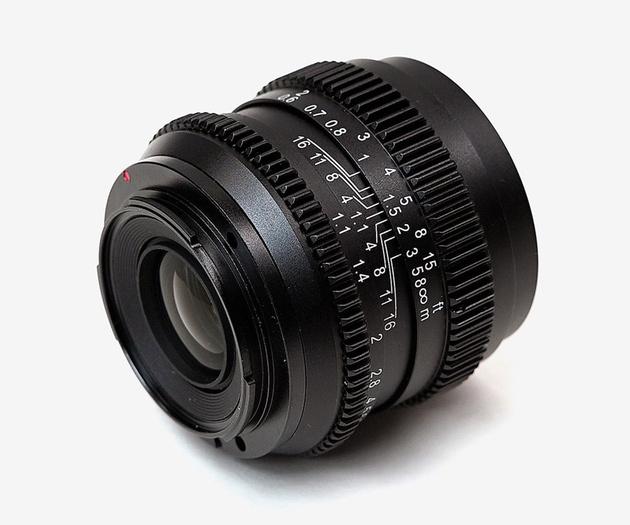 SLR Magic анонсировала объектив CINE 50mm F1.1 для видеосъемки