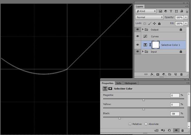Специальный файл PSD визуализирует работу корректирующих слоев в Фотошопе