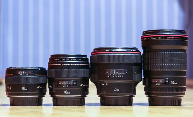 Тест портретных объективов Canon: EF 85mm f/1.2L II USM, EF 135mm f/2L USM, EF 85mm f/1.8 USM и EF 50mm f/1.4 USM