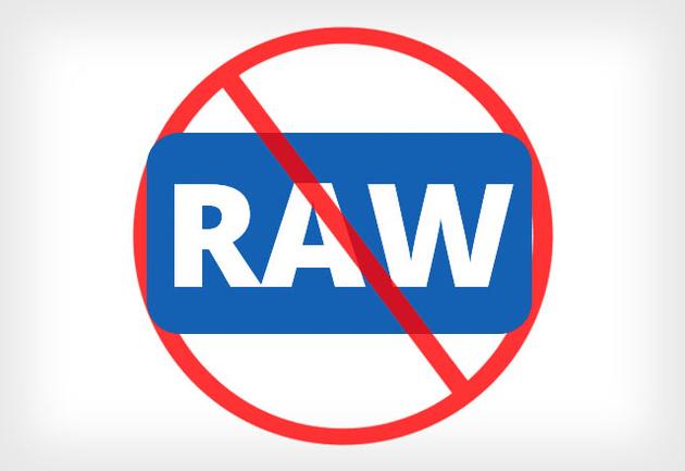 Агентство Рейтер запрещает фотографам использовать снимки, обработанные из RAW