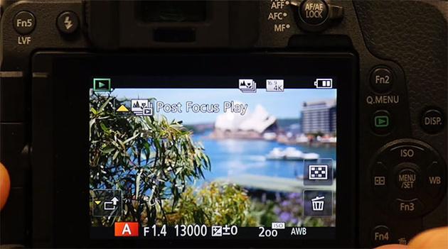 Новая функция Post Focus от Panasonic – доступно обновление прошивки