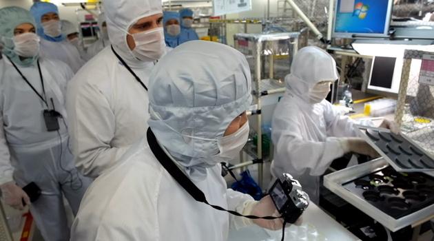 Видеотур по заводу компании Fujifilm в японском городе Сендай