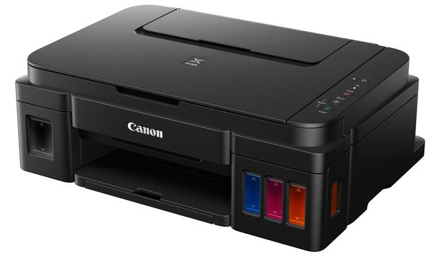 Три принтера Canon PIXMA с системой непрерывной подачи чернил