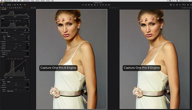 Capture One Pro 9 – больше возможностей по редактированию и управлению файлами