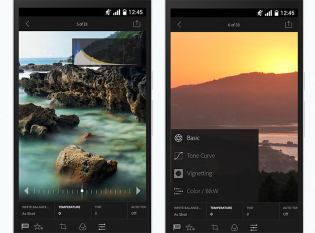 Lightroom Mobile для ОС Android – отныне совершенно бесплатный