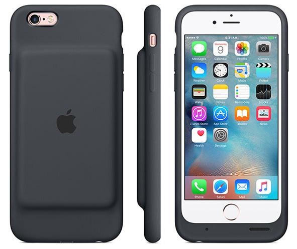 Apple выпустил «чехол с умным аккумулятором» для iPhone