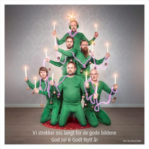 Открытка от норвежского магазина фототехники