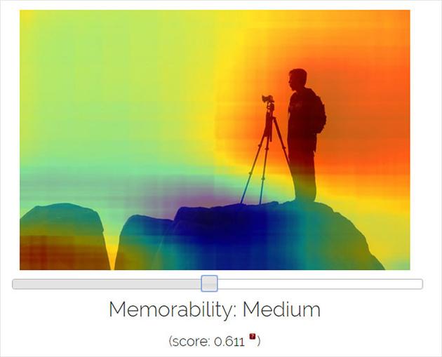Онлайн алгоритм рассчитывает, насколько хорошо запомнится ваше фото