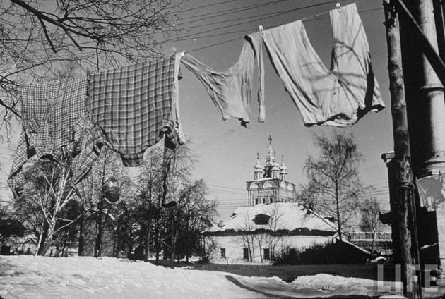 Московская зима 1959-го года