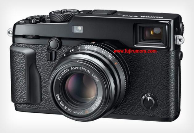 Первые изображения внешнего вида будущей камеры Fujifilm X-Pro2