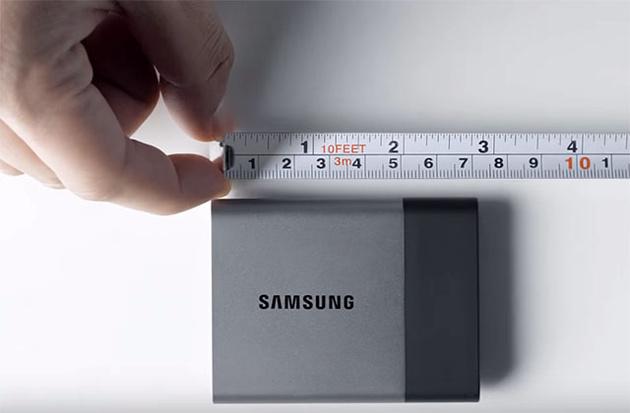 Samsung Portable SSD T3 – миниатюрный твердотельный накопитель емкостью 2ТВ
