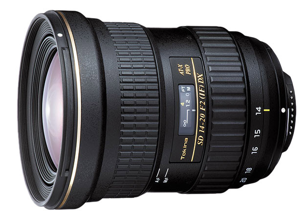 Объектив Tokina AT-X 14-20mm f/2 PRO DX для APS-C камер Canon и Nikon