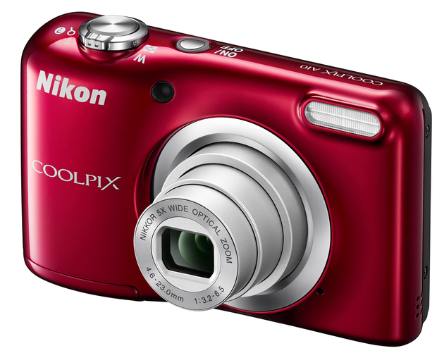 Nikon COOLPIX A100 и A10 – простые стильные компакты