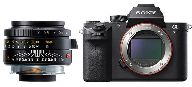 Адаптер для автофокусировки мануальных объективов Leica M на камерах Sony