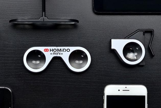 Homido mini – миниатюрные очки для просмотра виртуальной реальности