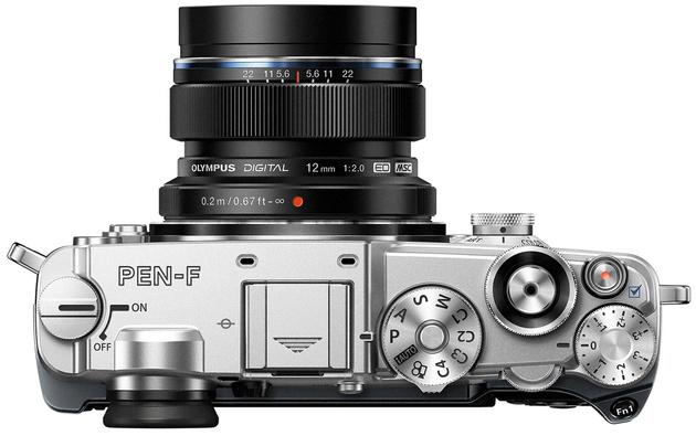 Olympus PEN-F – впервые матрица 20 Мп в беззеркальных камерах Olympus