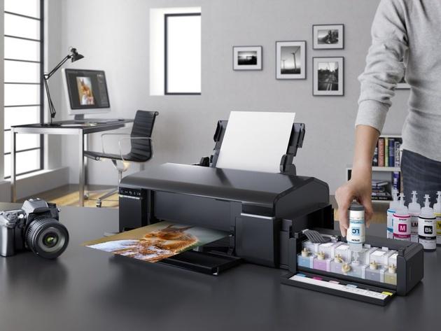 Epson L805 – беспроводная фотопечать по рекордно низкой себестоимости