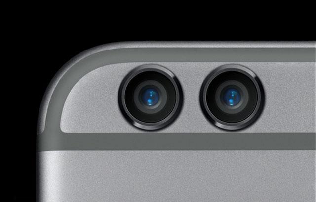Концепт двойной камеры в iPhone 7