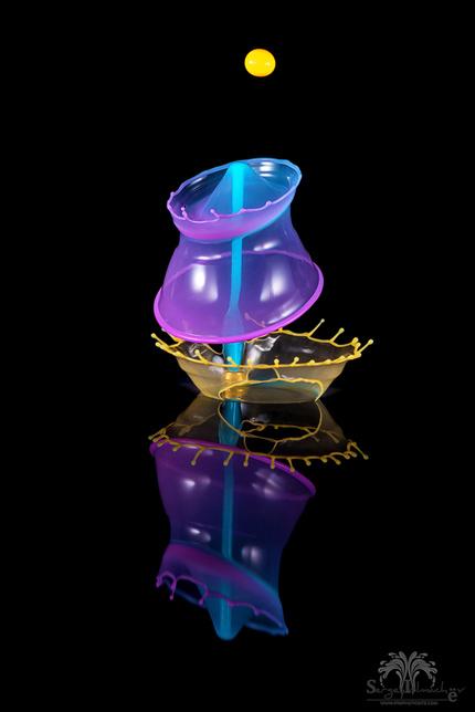 Водяные скульптуры Сергея Толмачева