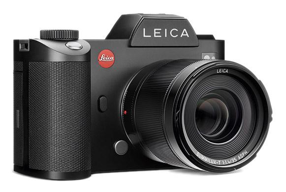 Беззеркальная камера Leica SL с полнокадровой матрицей 24 Мп