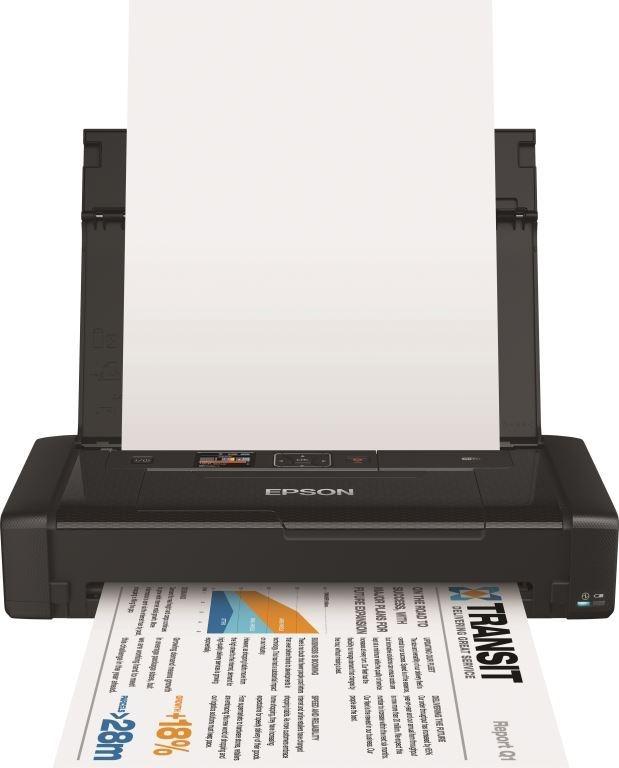 Epson WorkForce WF-100W — один из самых компактных в мире струйных принтеров формата А4