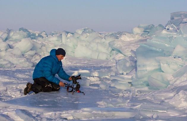 Фотоэкспедиция  «Ледяной Байкал» с National Geographic