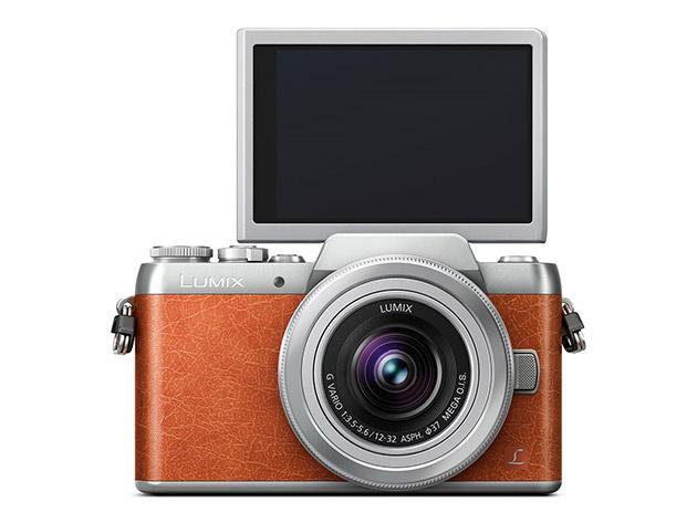 Panasonic GF8 – бюджетная беззеркалка, ориентированная на съемку селфи
