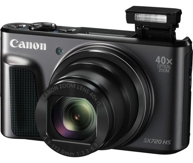 Canon PowerShot SX720 HS – ультразум 40х с толщиной корпуса менее 36 мм