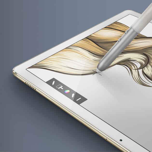 Компания Huawei представила новое устройство MateBook на выставке MWC 2016