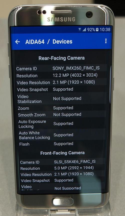 В Samsung Galaxy S7 и S7 edge установлен сенсор производства Sony