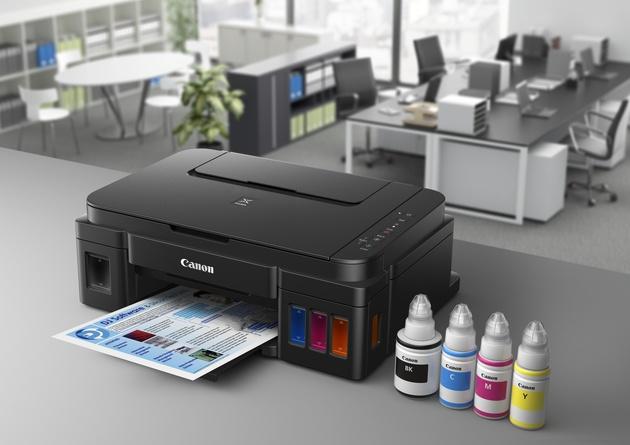 Принтеры Canon без картриджей. Тест Canon PIXMA G2400