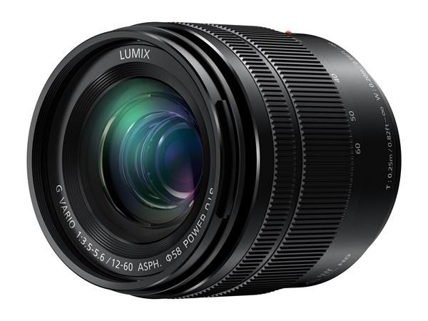Объектив Panasonic Lumix G Vario 12-60mm F3.5-5.6 с Power OIS и Dual IS