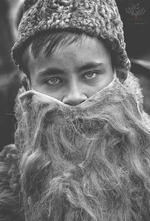 Портреты жителей румынской деревни