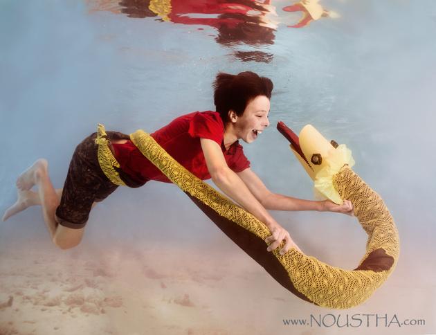 Дети и животные под водой в проекте «Wonderwater»