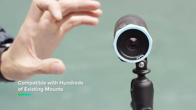 REVL Arc – экшн-камера 4К со встроенным стабилизатором