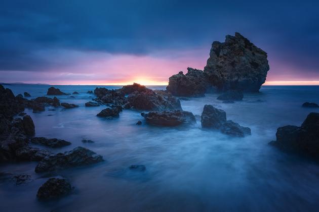 Португалия. Солнечный Алгарве или Серых туч океан