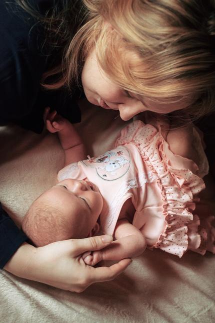 Как фотографировать младенцев?