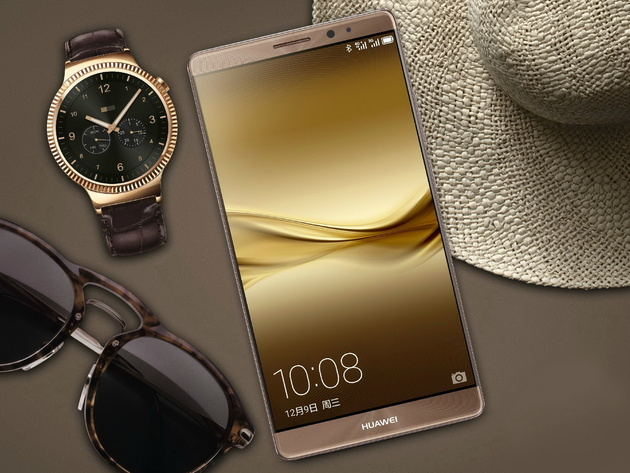Huawei начинает продажи флагманского смартфона Mate 8 в России
