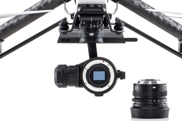 Начались поставки дрона DJI Inspire 1 Raw Edition с камерой Zenmuse X5R 4K MFT