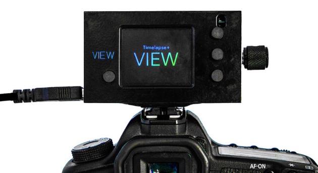 Интервалометр VIEW позволяет просматривать таймлапсы прямо в процессе съемки