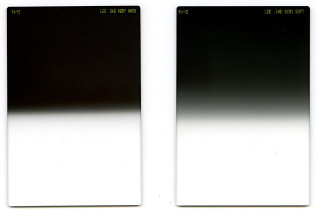 Новые градиентные ND фильтры Lee Filters с очень резкой границей перехода