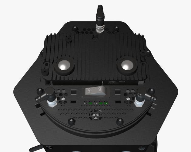 Bison – защищенный 360° 3D камерный риг для съемки диких животных